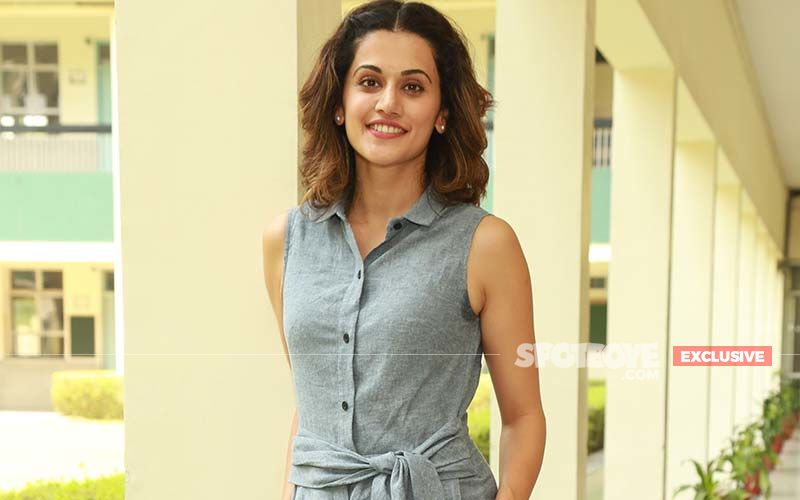 'I Am Thankful To The Actresses Who Said No To  Haseen Dillruba,' Says Taapsee Pannu - EXCLUSIVE