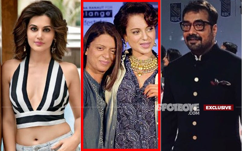 "Kangana Ranaut: ""The Way Anurag Kashyap Is Protecting Taapsee Pannu, Rangoli Is Protecting Me"""