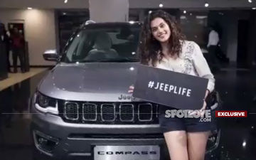Taapsee Pannu's Beautiful Car-Naama; Gifts Herself A Brand New JEEP- Watch EXCLUSIVE Video