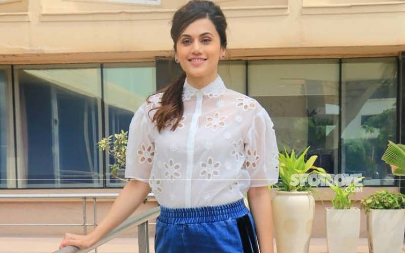 Taapsee Pannu On Her Newly Launched Production House: 'It Would Help Some Actors To Get A Platform, So They Can Make Headway Quicker Than Me'
