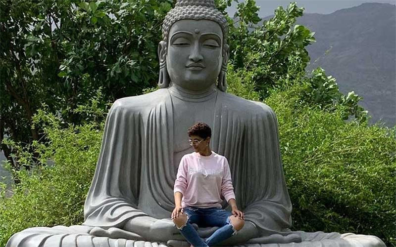 Tahira Kashyap Trolled For Sitting On Buddha Statue; Apologises For 'Offending Religious Sentiments'