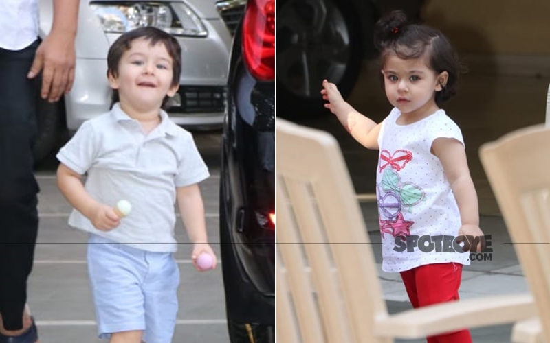 Taimur Ali Khan And Inaaya Kemmu Get Playful And We Can't Stop Adoring Them