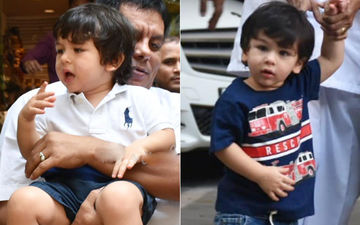 Taimur Ali Khan's Happy And Sad Moments- In Pictures And Videos