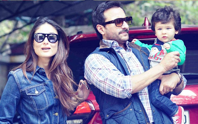 Taimur's Nickname REVEALED: We Bet You Can't Guess What Saif Ali Khan & Kareena Kapoor Fondly Call Their Son