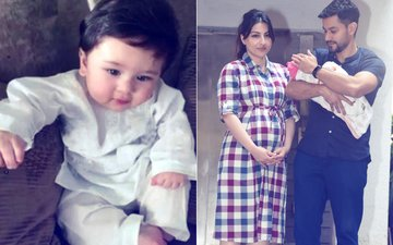 Here Is The FIRST PICTURE Of Taimur Ali Khan's Sister Inaaya