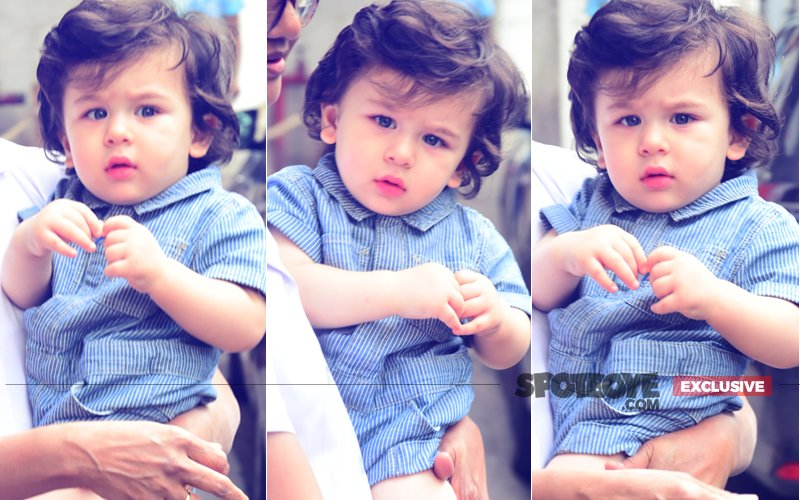 7 Pics Of Chote Nawab Taimur Ali Khan Looking Oh-So-Cute!