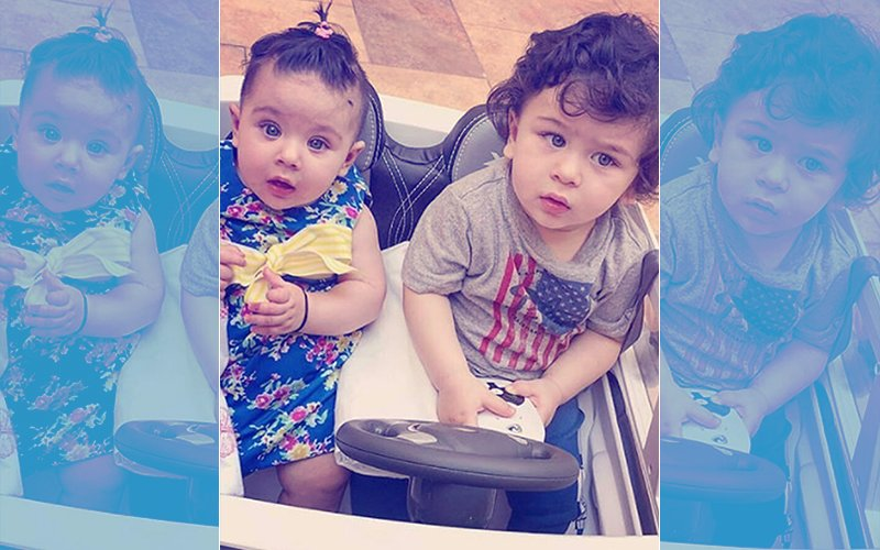 First Pics: Taimur And Inaaya Together, This Is Sweeter Than Sugar