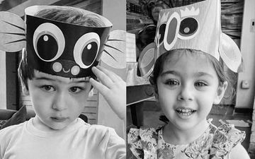 Kareena Kapoor Khan Gives A Twist To Black And White Challenge; Shares Taimur And Inaaya's Monochromatic Pictures And Nominates Priyanka Chopra