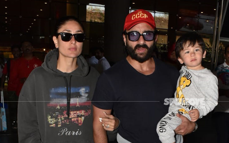 Taimur Is Back In The Bay With Kareena-Saif Ali Khan After Birthday Celebrations
