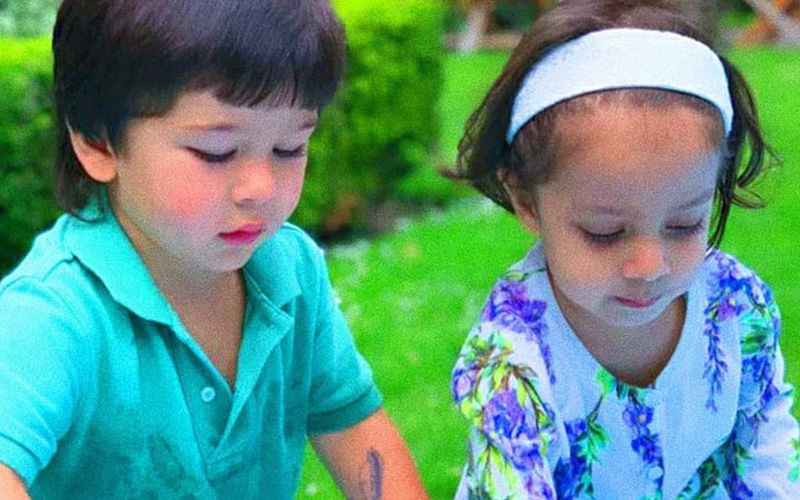 Taimur Ali Khan Playing With His Best Friend Kainaat Is The Cutest Thing You Will See On Internet Today
