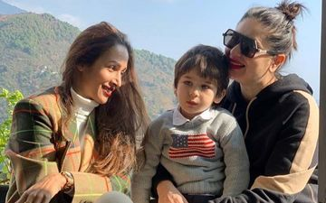 Malaika Arora Basks In The Winter Sun With BFF Kareena Kapoor Khan And Taimur In Dharamshala; Gives A Glimpse Of 'Mountain Bliss'