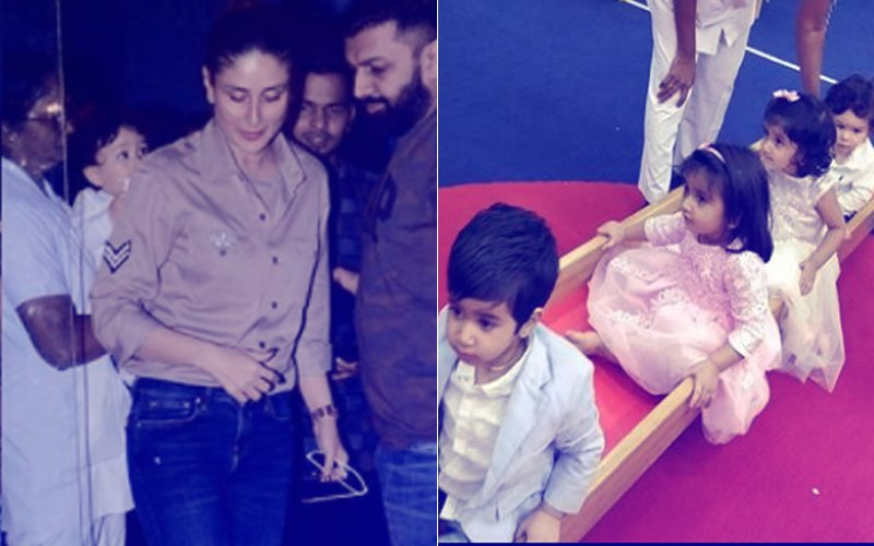 Taimur To Kareena Kapoor: It's Time To Party, Mom!