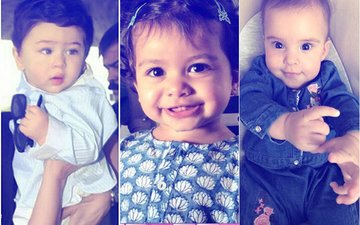 Children's Day Special: These Pictures Of Taimur Ali Khan, Misha Kapoor & Yash & Roohi Will Make your Day
