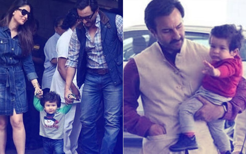 Watching Taimur Walk For The First Time Was Like Watching A Drunk Baby: Saif Ali Khan