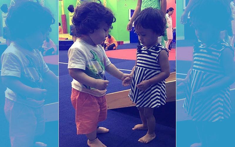 Taimur Has A New Friend In Playschool. Meet Her...