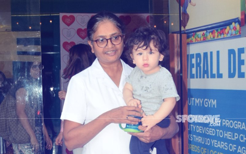 7 Adorable Pics Of Taimur's Evening Walk That Are Pure Delight