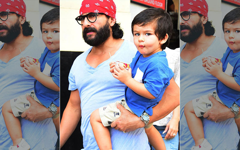 """Saif Ali Khan Is """"Surprised That People Could Imagine"""" His Son Taimur Doing Cameo In A Film!"""