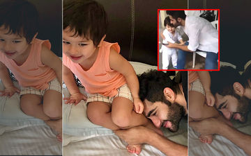 Taimur Ali Khan Asking Uncle Armaan Jain For A Hug Will Warm The Cockles Of Your Heart, Video Inside