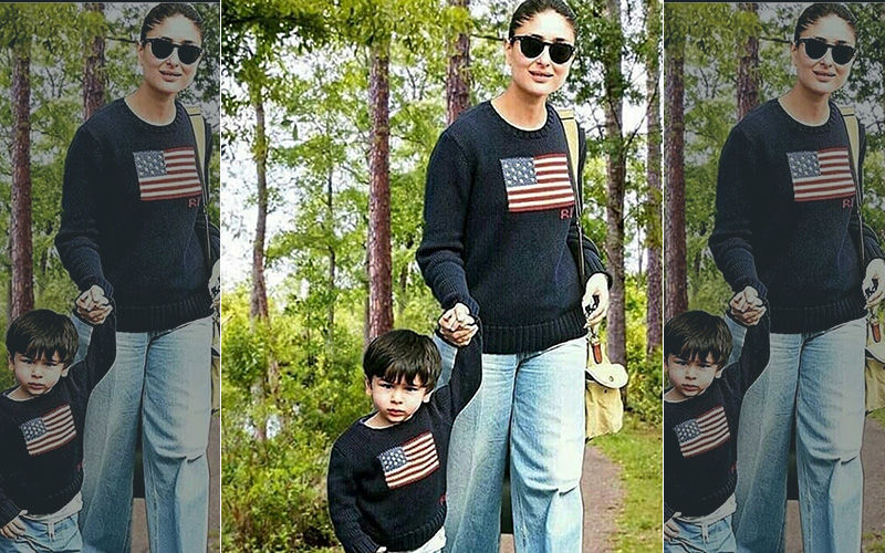 Kareena Kapoor Twinning With Son Taimur Ali Khan Is The Cutest Thing On The Internet Today