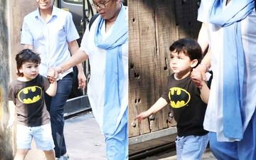 Taimur Ali Khan's Nanny Seems Miffed As Paps Follow Them; Grumbles 'Itna Virus Hai Toh Bhi'- WATCH VIDEO