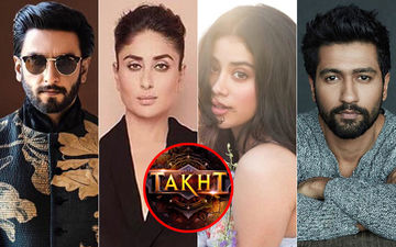Takht: Karan Johar Gives Us A 'Subtle Reminder' Of The Ensemble Star Cast Ft. Ranveer Singh, Kareena Kapoor Khan, Janhvi Kapoor, Vicky Kaushal