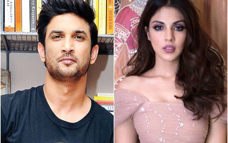 Sushant Singh Rajput Posted THIS Picture With Rhea Chakraborty In June 2019 But Later Deleted It; See It Here