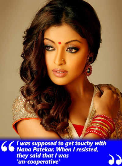 tanushree dutta on being harrased by nana patekat