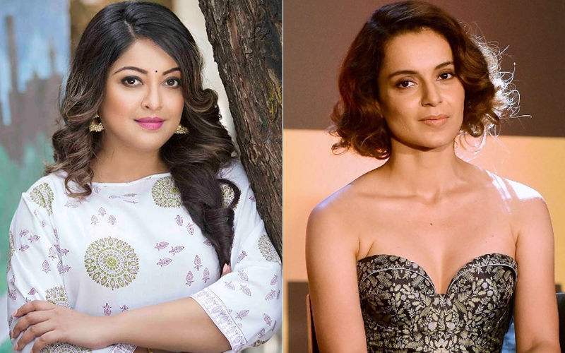 Tanushree Dutta To Kangana Ranaut: They Don't Support You Because They Are Intimidated By Your Talent And They Hate Your Guts