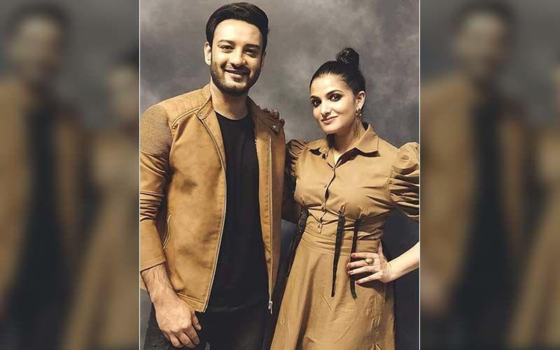 Tanusree Chakraborty, Shaheb Bhattacharjee Begin Promoting Their Next Web Series 'Bonyo Premer Golpo'