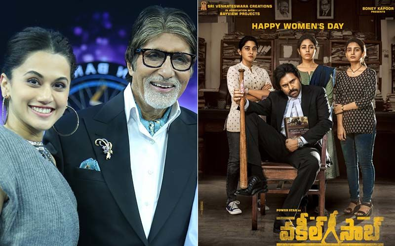 Taapsee Pannu-Amitabh Bachchan's Pink Fans Disappointed By Its Telugu Remake Vakeel Saab