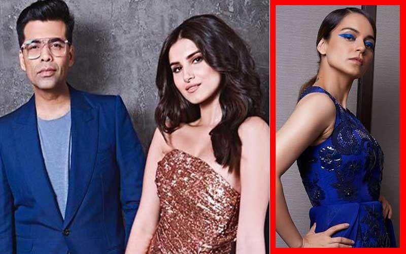 """Karan Johar's Student Tara Sutaria Sees Kangana Ranaut As """"An Inspiration"""""""