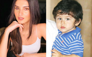 Tara Sutaria Shares An Adorbs Childhood Picture, Netizens Call Her 'Chota Taimur Ali Khan'