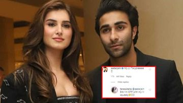 Tara Sutaria-Aadar Jain's Romance Amid Lockdown Knows No Bounds; Check Out Their Cute NICKNAMES For Each Other