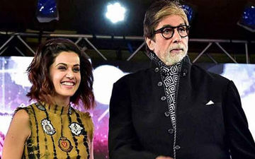 Amitabh Bachchan Says It's  A Joy Working With Taapsee Pannu; Calls Her The 'Most Accomplished Artist'