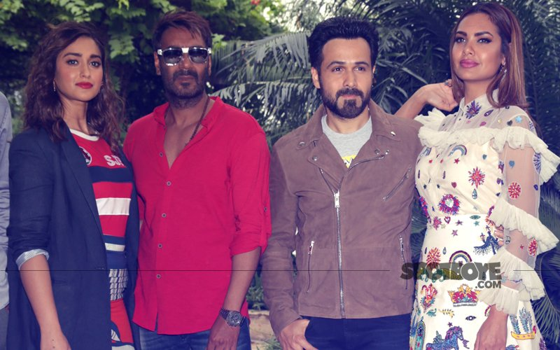 Ajay Devgn, Ileana D'Cruz, Emraan Hashmi & Esha Gupta Promote Baadshaho