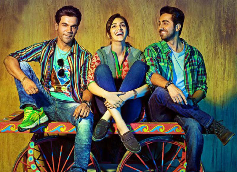 team bareilly ki barfi pose for a candid picture