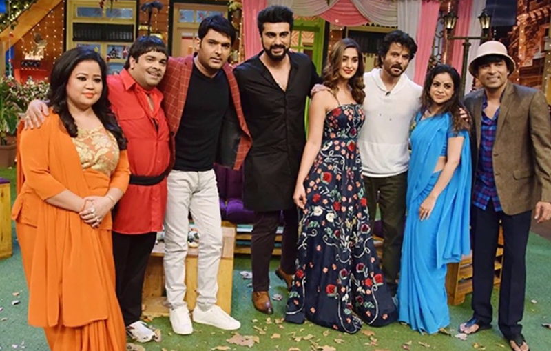 team mubarakan on the kapil sharma show