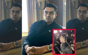 JNU Violence: Bigg Boss Contestant Tehseen Poonawalla Arrives With Help; Attacked By 'GO BACK' Chants- VIDEO
