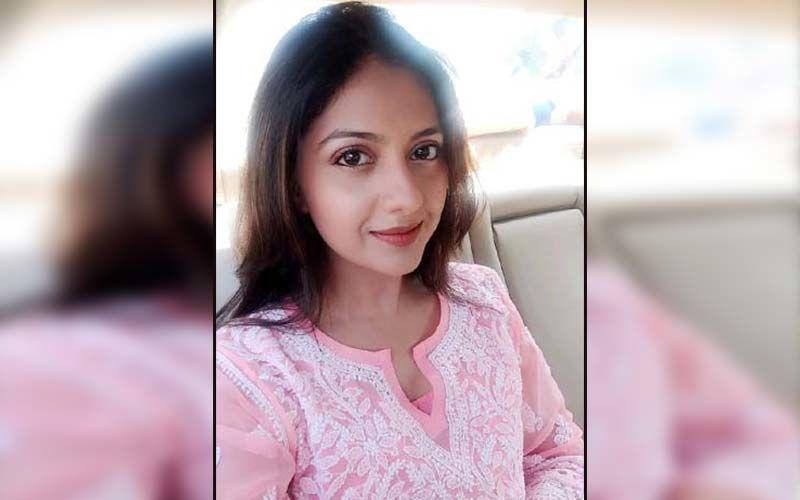 Tejashree Pradhan Looks Ethereal In A Pastel Pink Fairytale Dress
