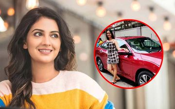 Tejashri Pradhan Poses With A New Honda Civic In Her Instagram Post!