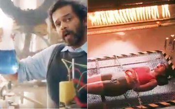 Khatron Ke Khiladi 10 Promo: Professor Rohit Shetty Welcomes Tejasswi Prakash, Introduces 'Bachelor In Screaming' Class-VIDEO