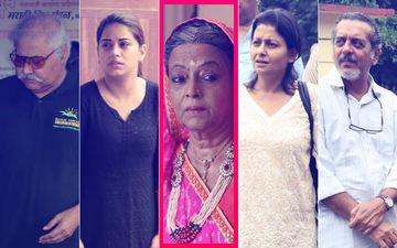 Rita Bhaduri's Funeral: Satish Shah, Bhumika Gurung, Jaya Bhattacharya, Shishir Sharma Pay Last Respects