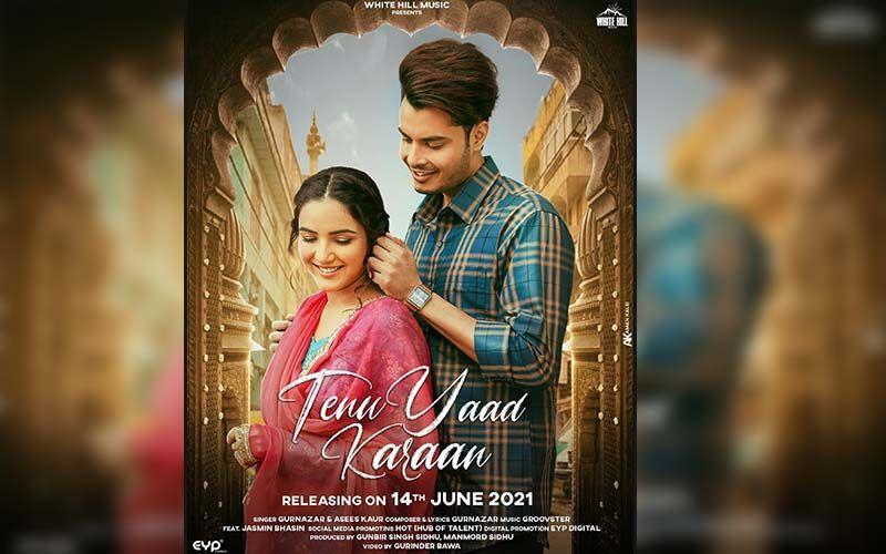 Tenu Yaad Karan: Gurnazar And Jasmin Bhasin's New Love Song Hits The Music Chart; Singer Shares An Insta Reel