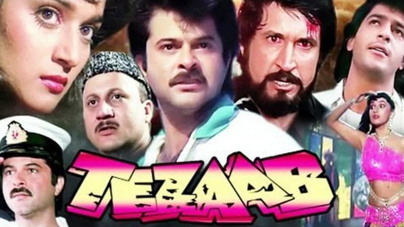 tezaab movie poster