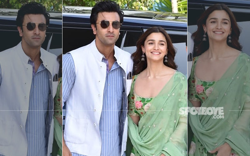 Alia Bhatt-Ranbir Kapoor Are A Jolly Good Couple In These Videos As They Set Off To Visit Kumbh Mela