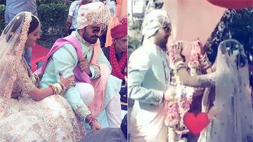 Just Married: Rubina Dilaik & Abhinav Shukla Exchange Varmala. Watch Video