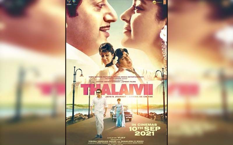 Kangana Ranaut-Starrer Thalaivii To Release In Theatres On September 10; Masses To Relive Jayalalithaa's Powerful Journey On Big Screen