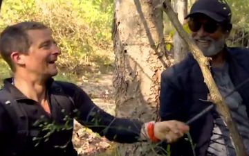 Rajinikanth On Man Vs Wild: Thalaiva Has An Action Packed Entry In The First Teaser As Bear Grylls Calls Him A Superstar