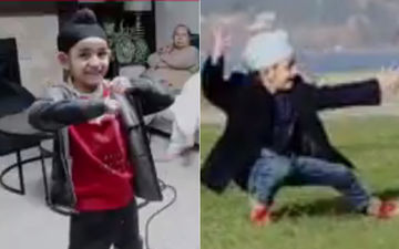 The BTS Video Of 'Ardaas Karaan' Shows How Gippy Grewal's Son Shinda Prepared For His Role