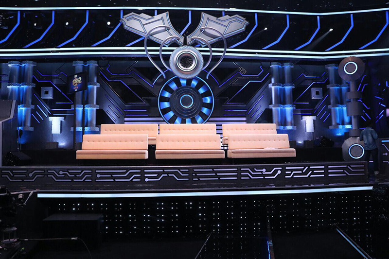 the contestants seat for super dancer 2
